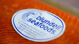 Blundell smoked salmon